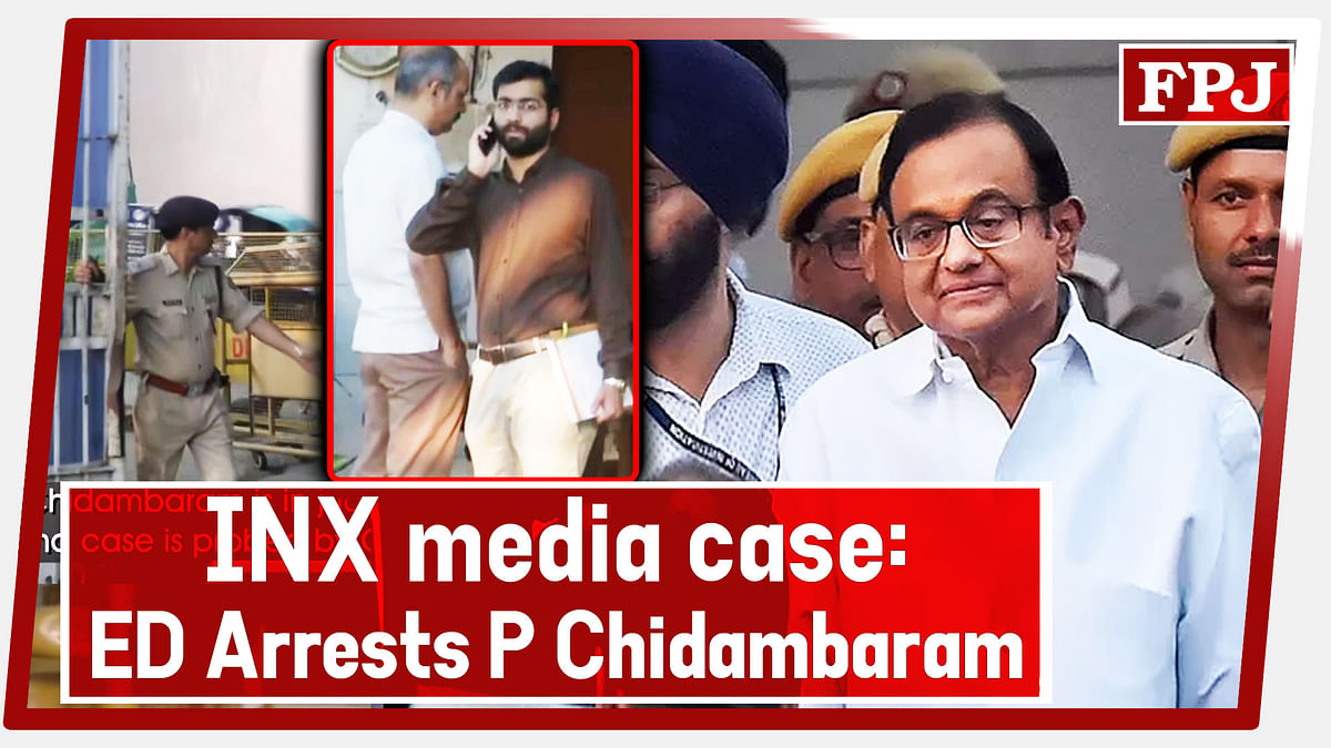 INX Media Case: ED Arrests P Chidambaram After Questioning Him At Tihar Jail