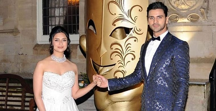 Divyanka Tripathi attends Cardiff Film Festival with husband Vivek Dahiya