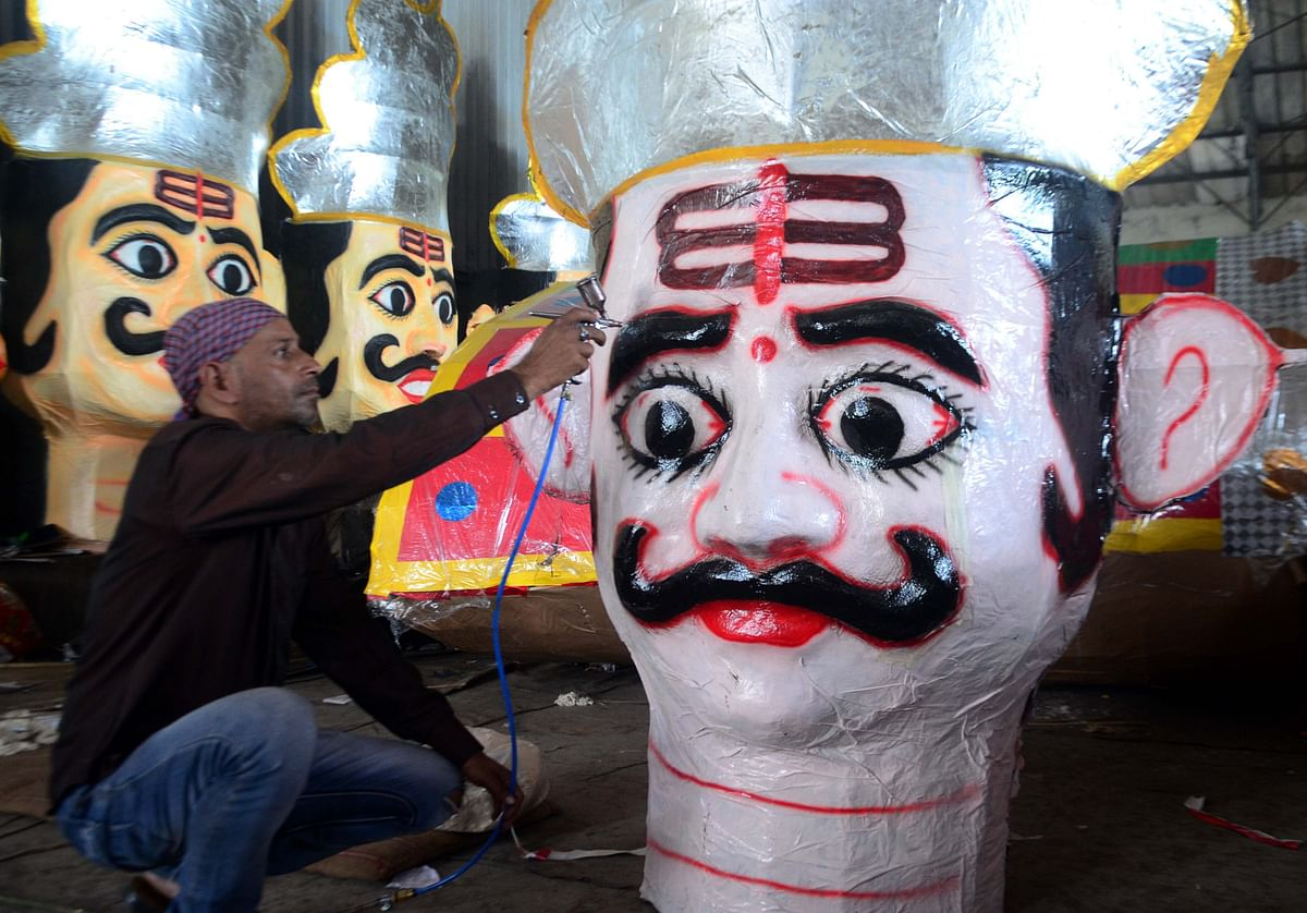 Bhopal: Ravan to go up in smoke in rain suit this year