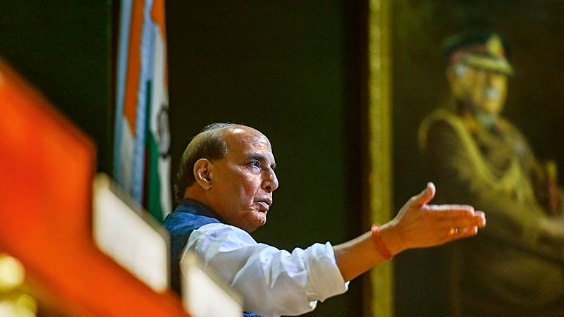 Gandhi Jayanti: Rajnath Singh administers cleanliness oath to people at Delhi Cantonment