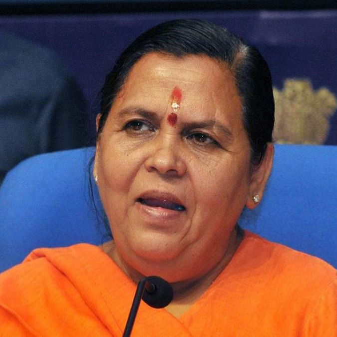 Uma Bharti tweet spree: Hails Modi, asks party to stay clear of Kanda