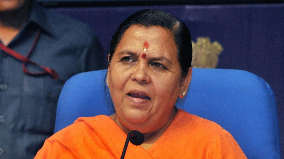 Uma Bharti tweet spree: Hails Modi, asks party to stay clear of Kanda
