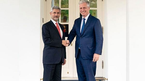 EAM S Jaishankar meets US National Security Advisor Robert O'Brien