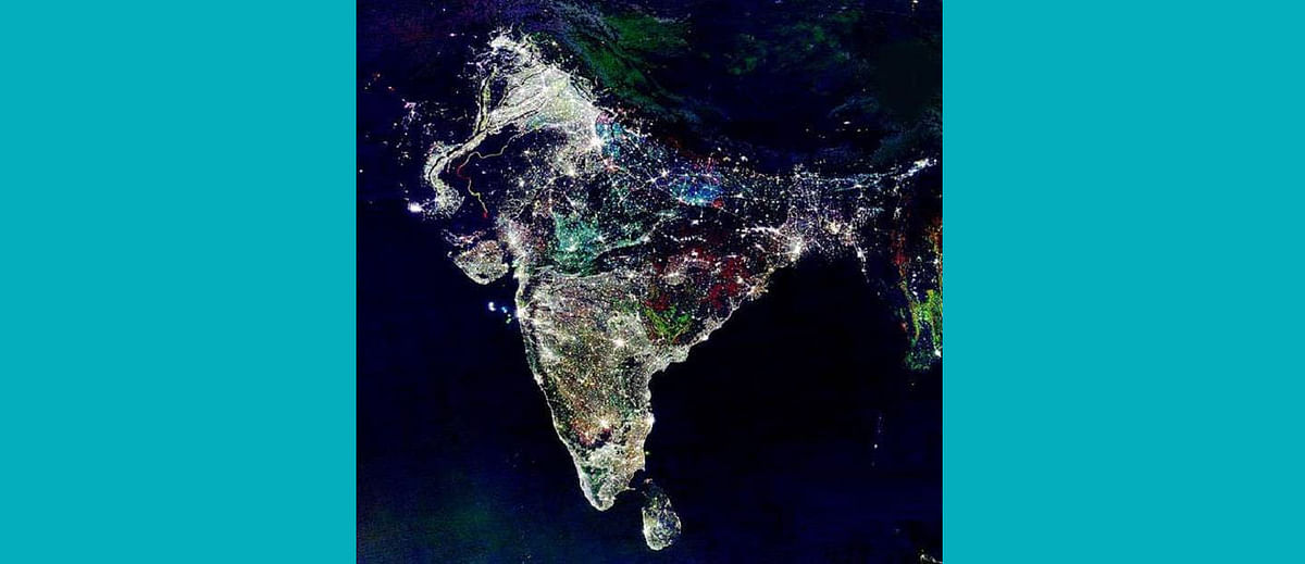 The spectacular viral space photograph of India on Diwali is sadly a hoax
