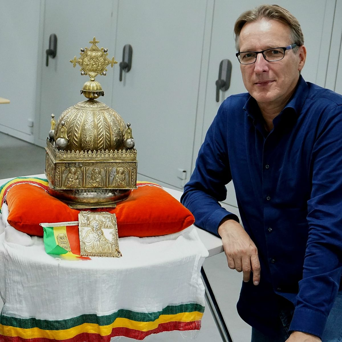 Hidden for 21 years: Ethiopian crown to return home from Netherlands