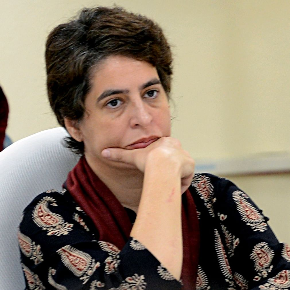 Congress says Priyanka Gandhi's phone bugged by Whatsapp spyware