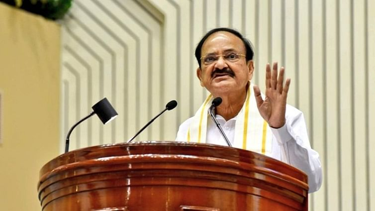 Indian diaspora important component of country's aspiration to be inclusive, equitable: Venkaiah Naidu