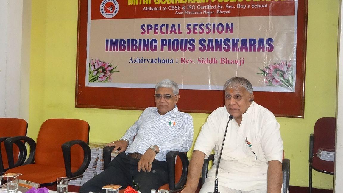 Bhopal: MGPS holds motivationals session