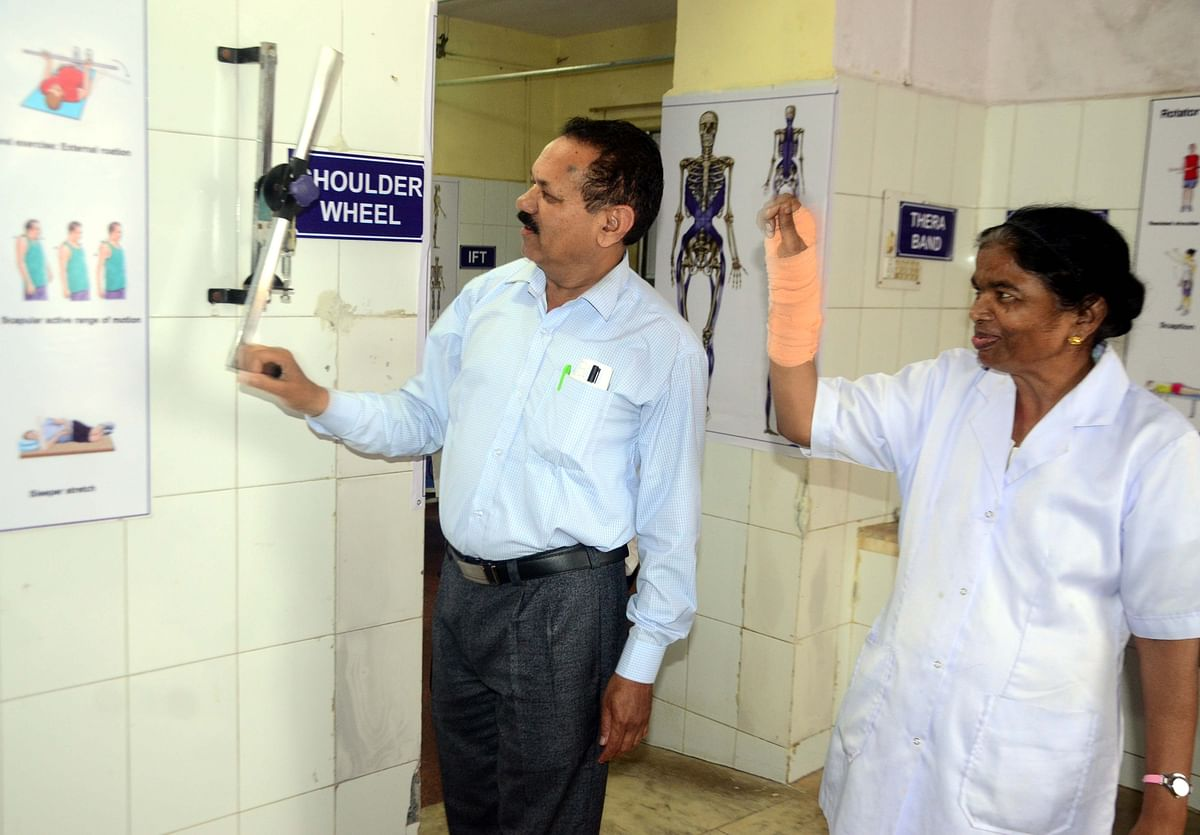 Bhopal: Physiotherapy at JP hosp is slowing earning its fan following