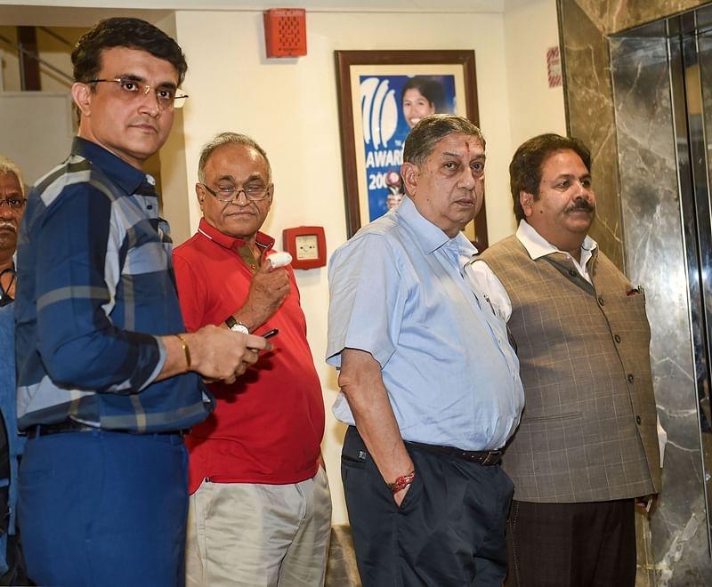 Amit Shah denies deal with Saurav Ganguly