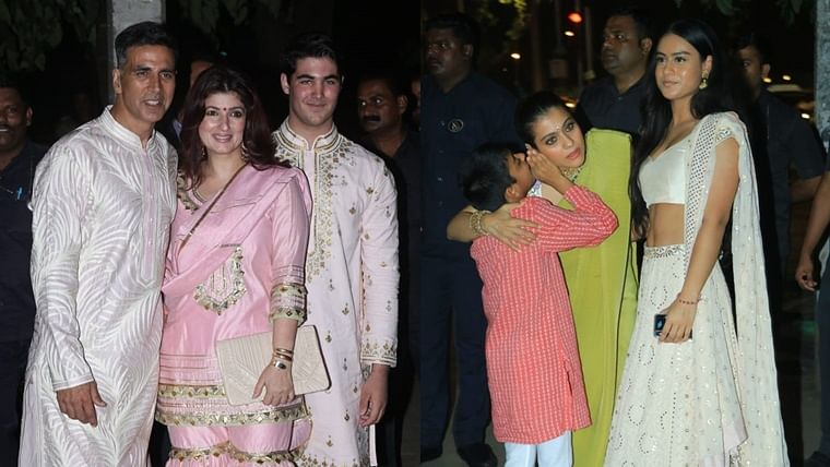 Akshay Kumar, Tiger Shroff, Kajol: It's all about loving your family at Bachchans' Diwali bash
