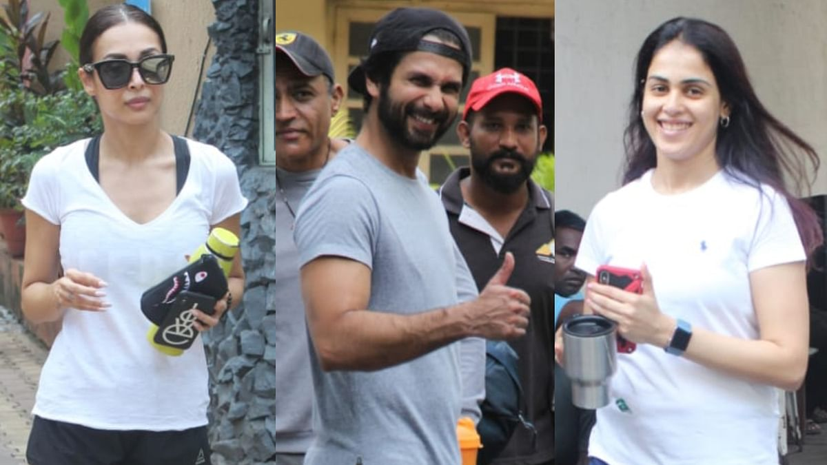 Malaika Arora, Shahid Kapoor, Genelia Deshmukh step out for a detox post Dussehra