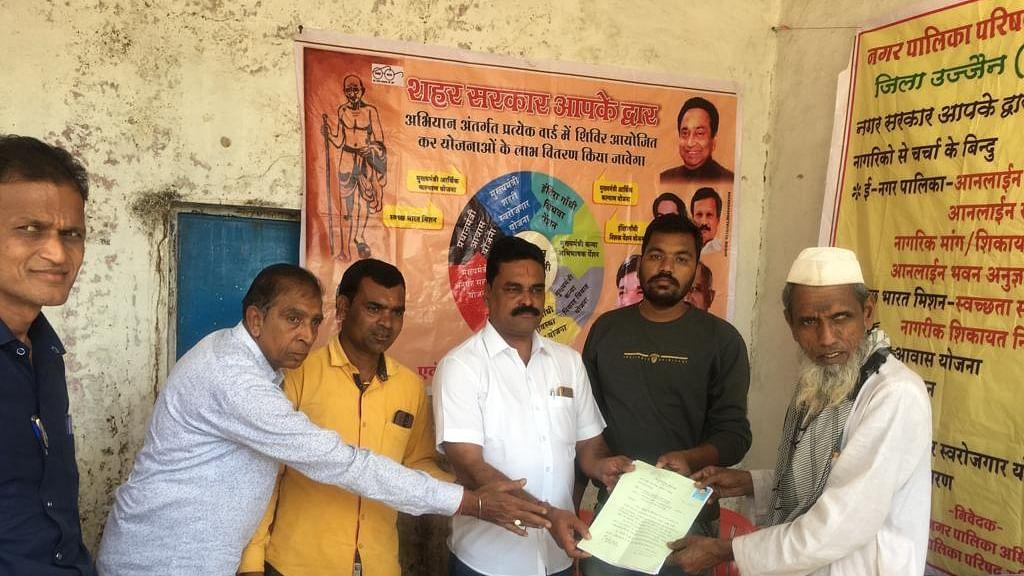 Mahidpur: Shahar Sarkar Aapke Dwar Abhiyan in 3 wards