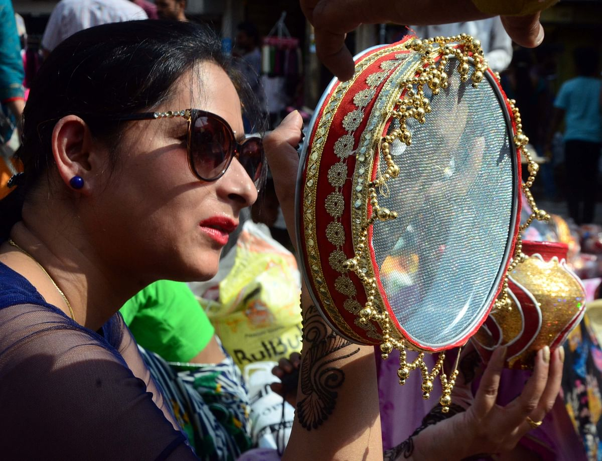 Bhopal:  Karwa Chauth Today; 'Thrill about Karwa Chauth has never worn down'
