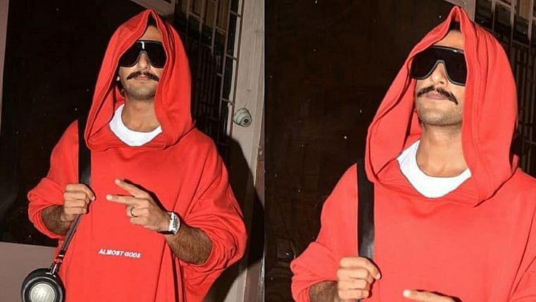 Ranveer Singh's 'Red Riding Hood' look leaves a toddler crying , watch video