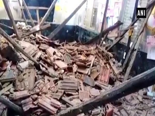 School roof collapses in Andhra Pradesh, students safe