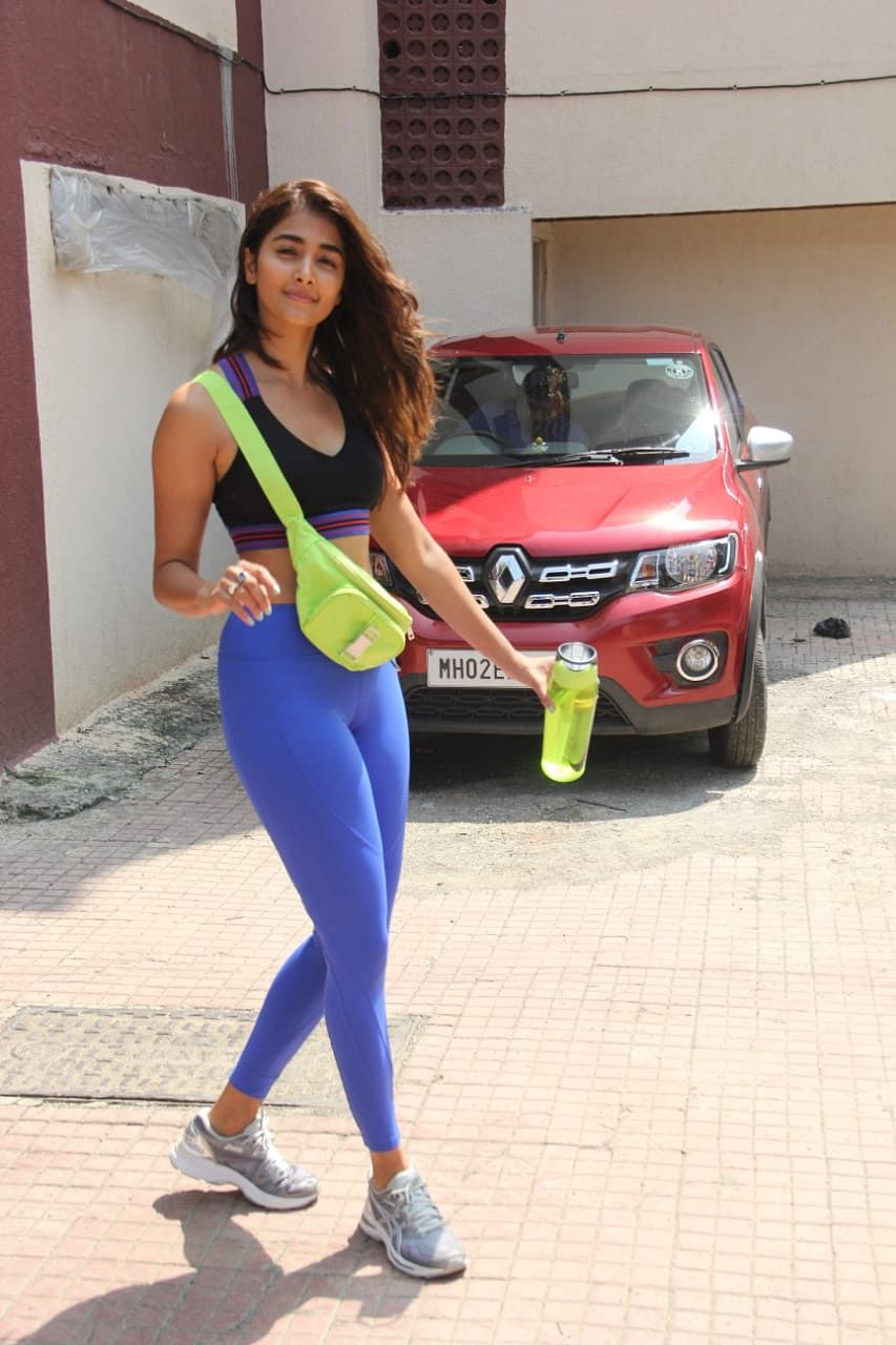 Pooja Hegde spotted at Pilates
