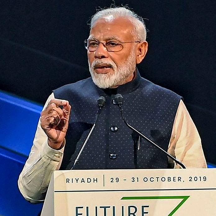 PM Modi hard sell at Saudi forum