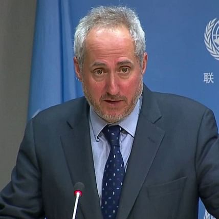 Some UN agency personnel in India able to operate in Kashmir: UN spokesperson