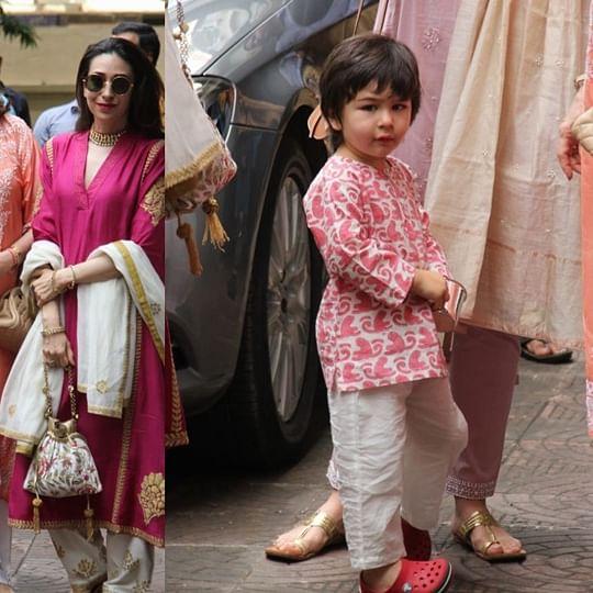 Kareena, Karisma, Babita reunite for Diwali, but an angry Taimur is grabbing eyeballs