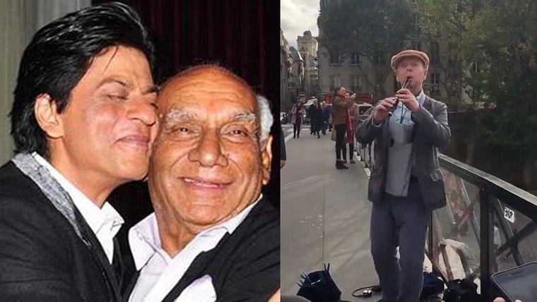 Missed Yashji: Shah Rukh Khan gets emotional about violinist playing 'DDLJ' in Paris