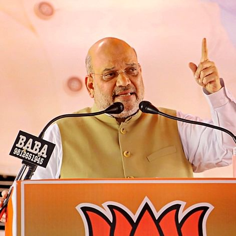 Infiltrators will be thrown out of India: Amit Shah