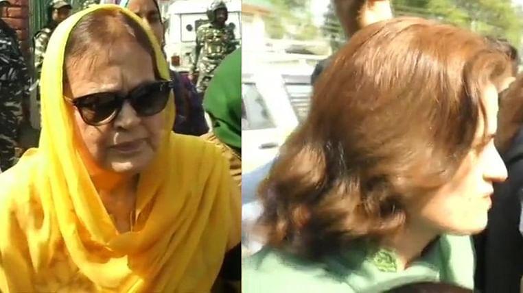 Farooq Abdullah's sister Suraiya, daughter Safiya released on bail
