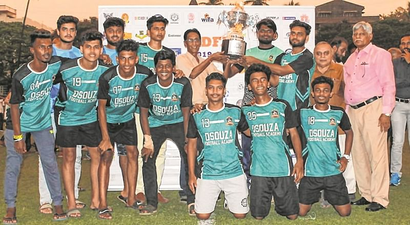 D'Souza Football Academy claim MDFA Div-III crown