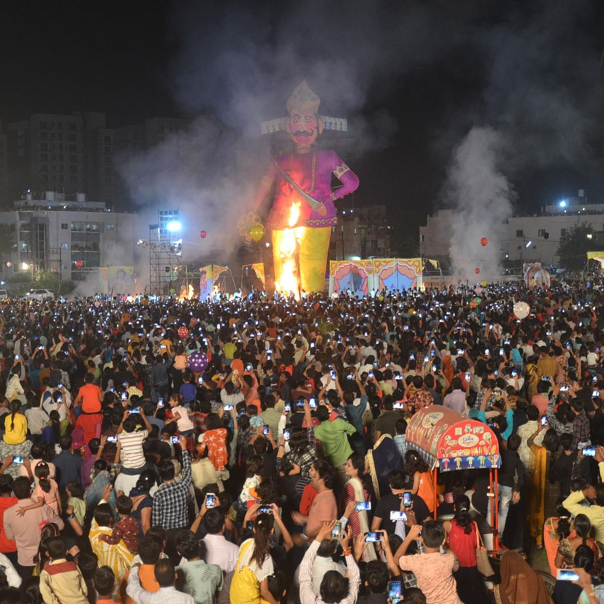 Indore: Dussehra celebrated across city