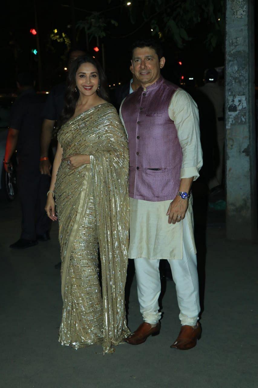 Madhuri Dixit with Sriram Nene