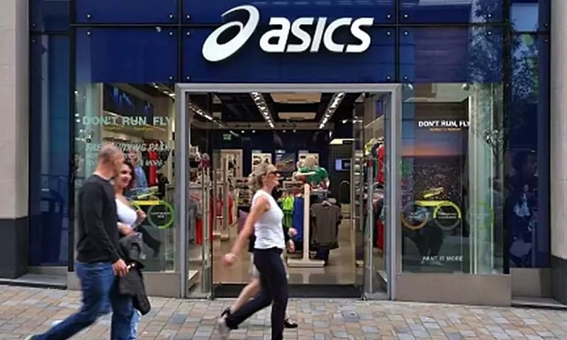 Asics apologises over porn played on large TV screens