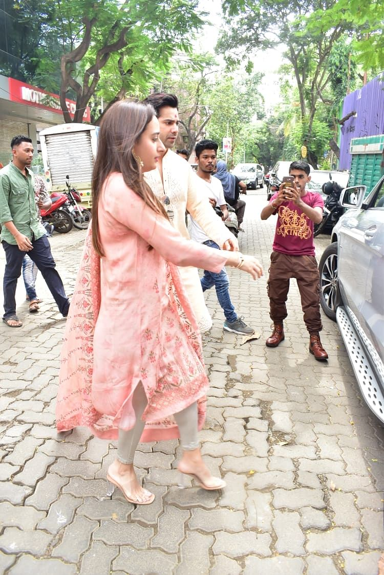 Sorry Priyanka, Varun Dhawan and Natasha Dalal's twinning is making us see the world in pink
