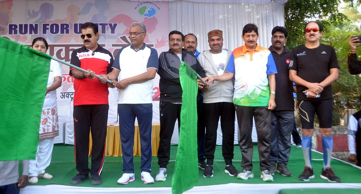 Indore: Run for Unity to mark Sardar Patel's birth anniversary