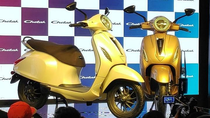 Bajaj's iconic Chetak is back as electric scooter