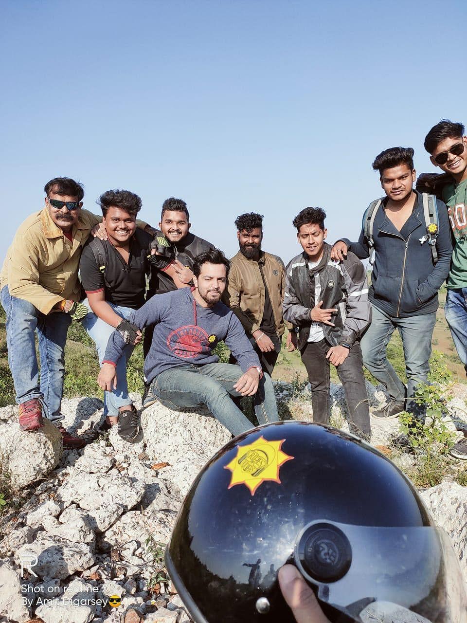 Indore: 50 riders explore Dattani Hills