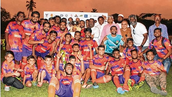 First Division final of the Rustomjee-MDFA League, Rudra FA crowned Champions