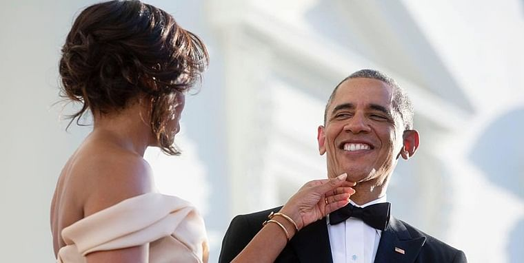 Michelle thanks husband Barack Obama for an adventurous life on 27th wedding anniversary