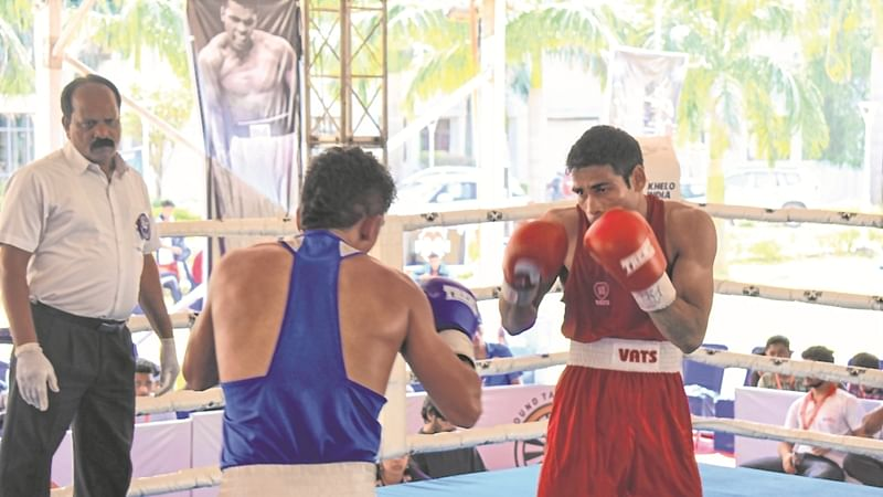 Men's Boxing national: Shiva Thapa, Sachin Siwach reach finals