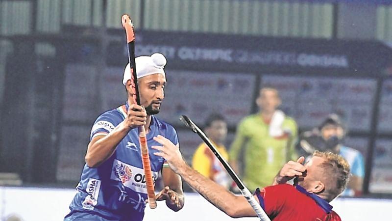 Olympic Qualifier: Mandeep Singh fires brace