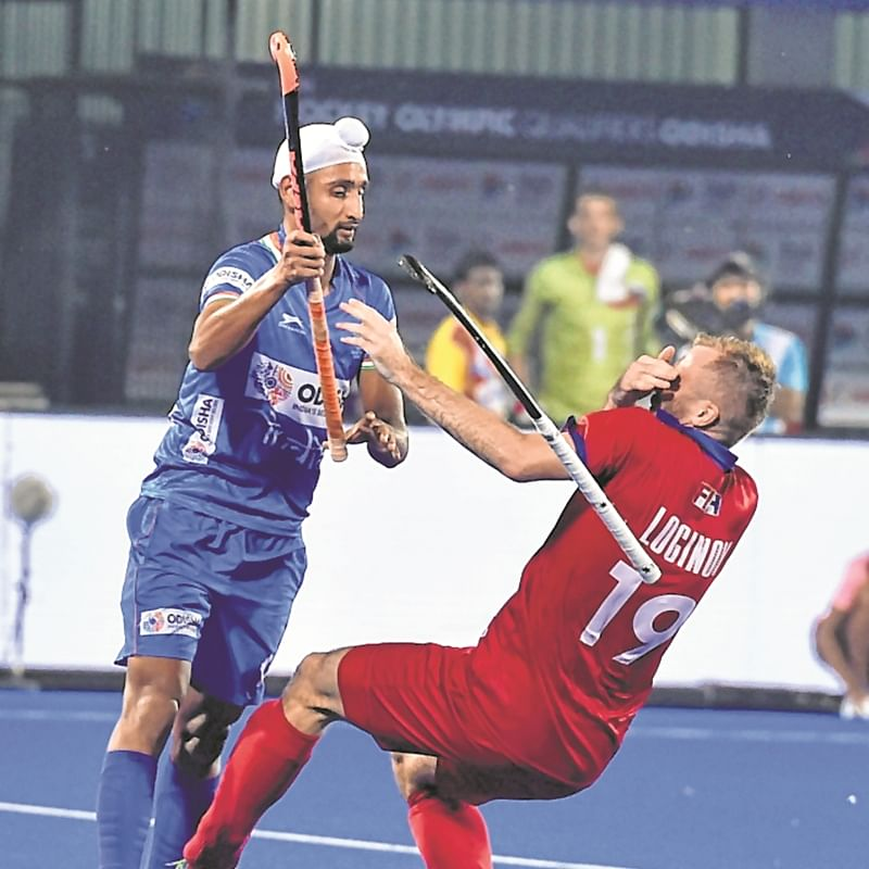 Olympic Qualifier: Mandeep Singh fires brace