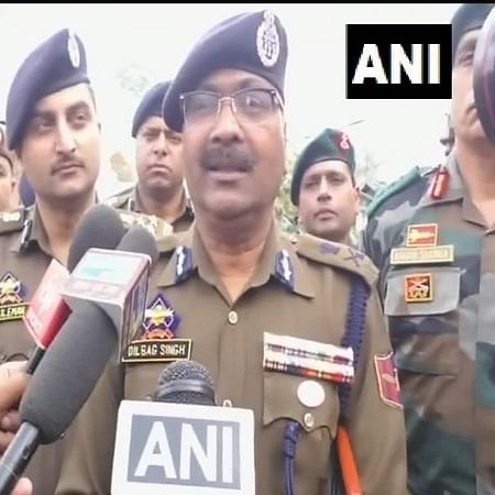 J-K DGP Dilbagh Singh congratulates security forces for arresting LeT terrorist