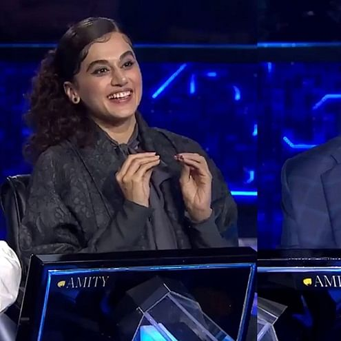 KBC 11: Taapsee Pannu reveals her contribution in Hrithik Roshan-Tiger Shroff starrer 'War'