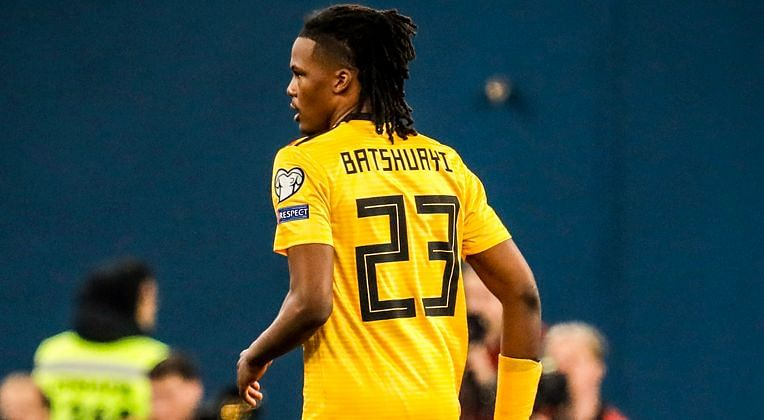 Dedryck Boyata wears wrong jersey during Belgium's match against Russia