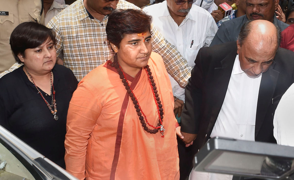Pragya Singh Thakur (File Photo/AFP)