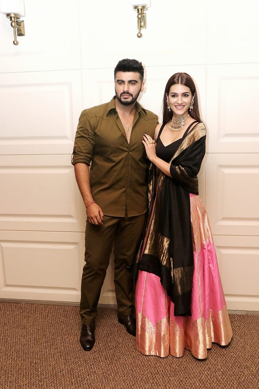 Kriti Sanon and Arjun Kapoor