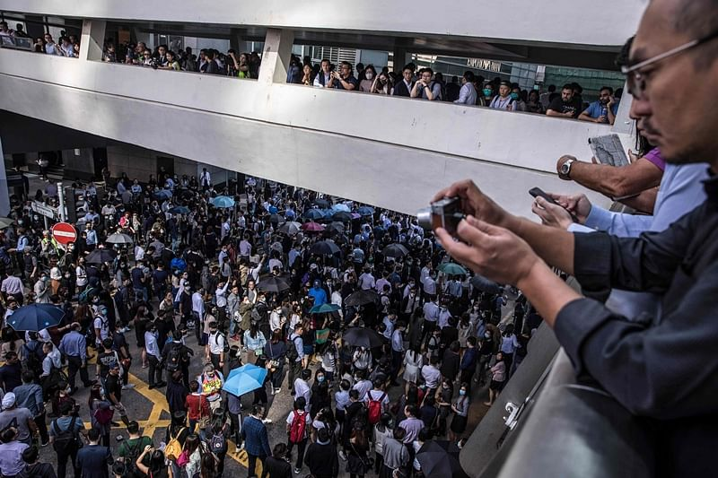 Protests in Hong Kong continue