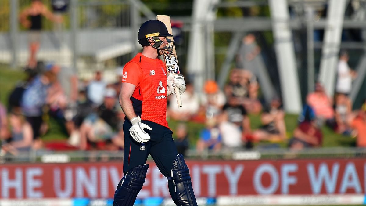 Eoin Morgan first England player to score 2000 T20I runs