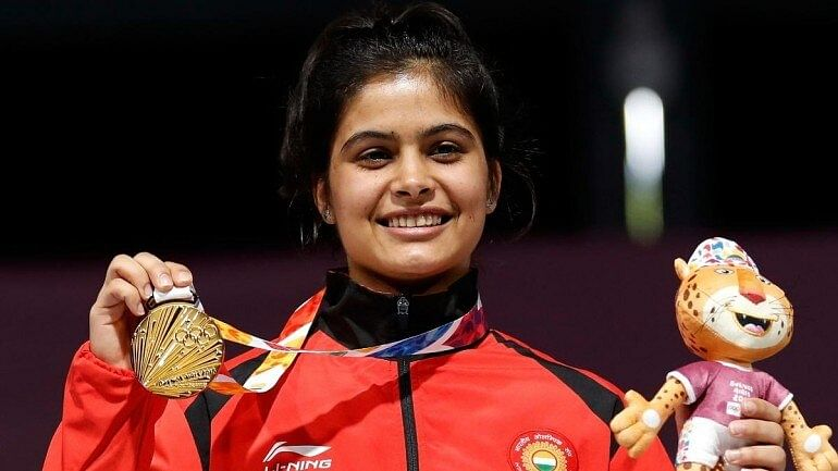 17-year-old Manu Bhaker bagged gold in women's 10m Air Pistol event at the ongoing ISSF World Cup Final in Putian