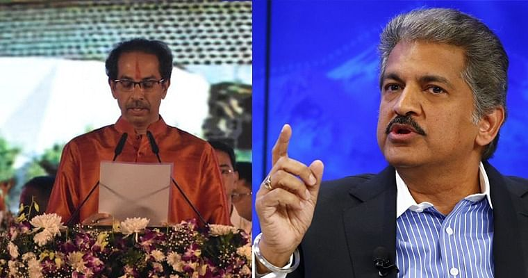 Anand Mahindra hails Uddhav's 'creative talent' after he takes oath