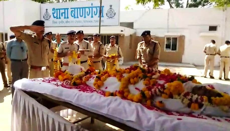 Indore: Constable killed in road accident, body sent to UP for final rites